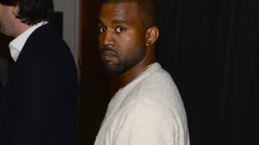 Kanye West en février 2014 à New York.