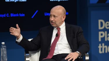 Lloyd Blankfein, PDG de Goldman Sachs.