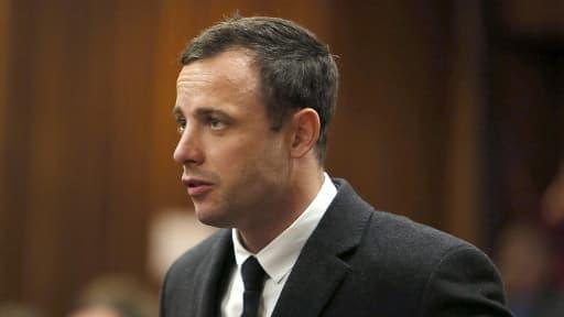 Oscar Pistorius, lors de son procès le 8 juillet 2014.
