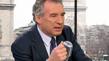 Le président du Modem, François Bayrou.