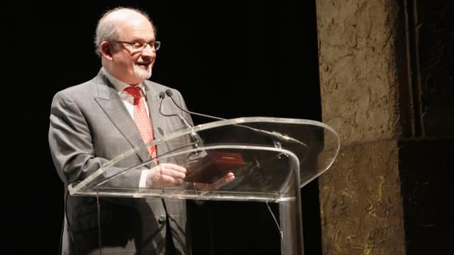 Salman Rushdie, le 10 décembre 2015 à New York.