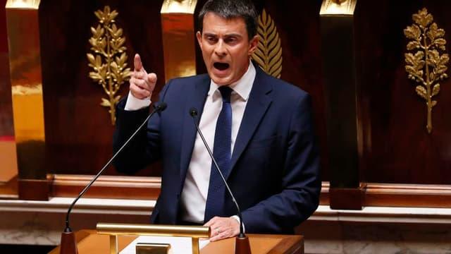 Manuel Valls a assuré qu'il n'était pas question de revenir sur la durée légale du temps de travail.