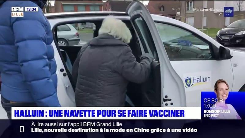 Halluin: une navette pour emmener les personnes à mobilité réduite se faire vacciner
