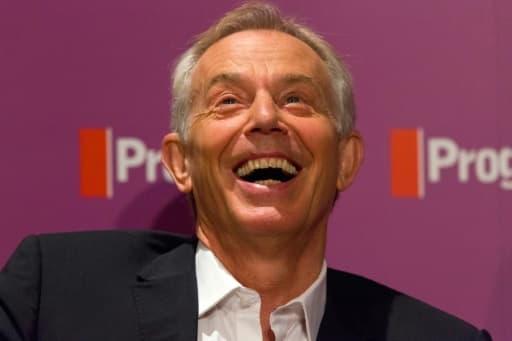 L'ex-premier ministre britannique Tony Blair, le 22 juillet 2015 à Londres