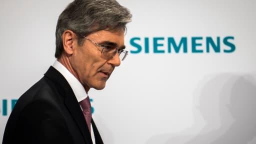 Joe Kaeser, le PDG de Siemens, ne s'avoue par vaincu.