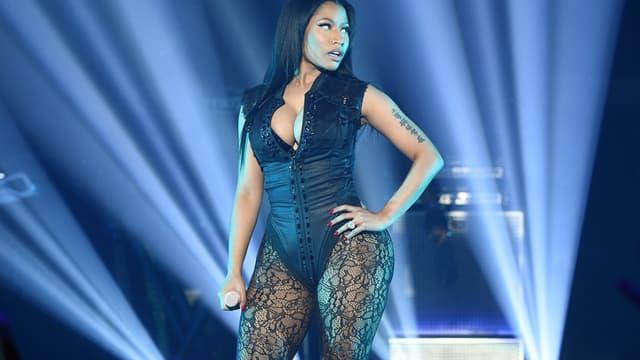 Nicki Minaj en concert en octobre 2015