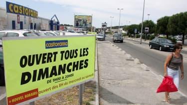 Malgré la décision de la justice, Castorama a décidé d'ouvrir le dimanche ses magasins en Ile-de-France.