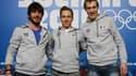Thibaut Fauconnet, Maxime Chataignier et Sébastien Lepape