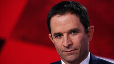 Benoît Hamon, le 9 mars sur le plateau de l'Emission politique de France 2.