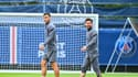 Leandro Paredes et Lionel Messi