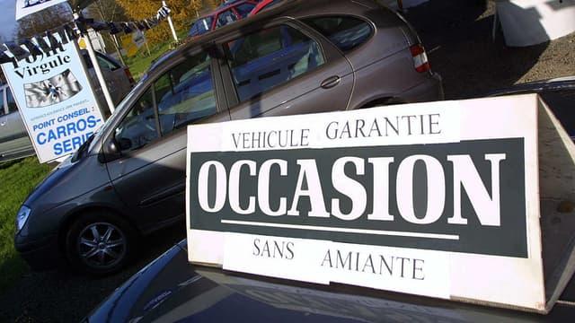 Les ventes de voitures diesel d'occasion ont reculé en avril de 9%.