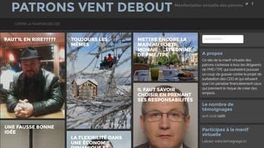 Le site patronventdebout.fr permet aux entrepreneurs de se plaindre.