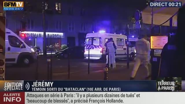 Les attaques ont touché quatre lieux dans Paris.