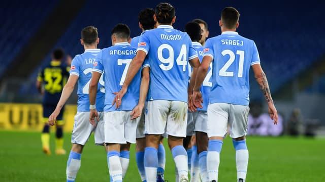 Illustration - Les joueurs de la Lazio