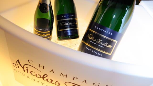 Nicolas Feuillatte est la troisième marque de champagne au monde.