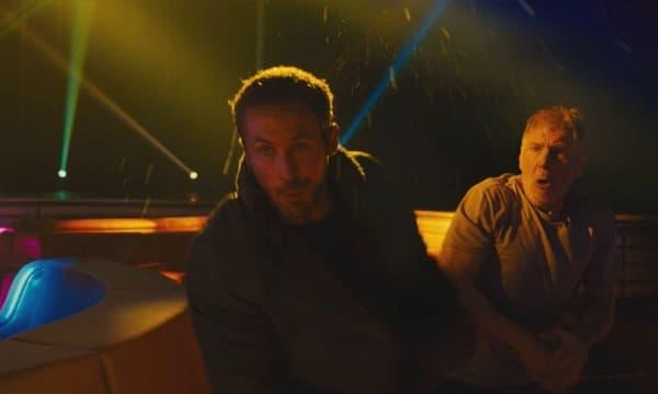 """Harrison Ford, surpris, d'avoir réellement frappé Ryan Gosling sur le tournage de """"Blade Runner 2049"""""""
