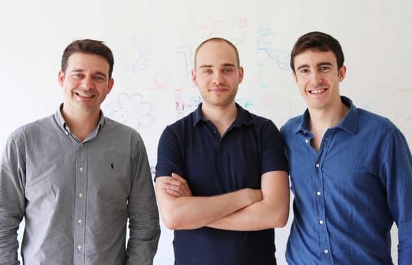 Les coauteurs à l'ETH Zurich, de gauche à droite: André Studart, co-premier auteur Florian Bouville et Tommaso Magrini.