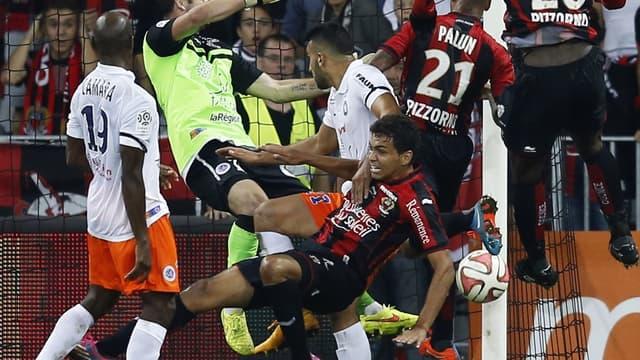 Match nul entre Montpellier et Nice