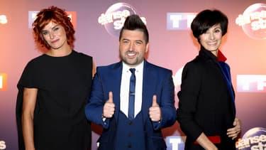 """Fauve Hautot, Chris Marques et Marie-Claude Pietragalla: les membres du jury de """"Danse avec les stars"""" sur TF1."""