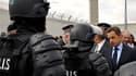 Nicolas Sarkozy a annoncé ce mardi que le gouvernement allait déposer un projet de loi pour augmenter le nombre de places en prison.