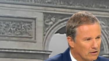 """Nicolas Dupont Aignan veut incarner """"une vraie rupture"""""""