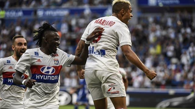 Mariano Diaz, buteur pour son premier match en Ligue 1