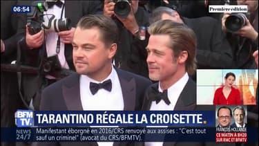 C'était Hollywood sur la Croisette ! Tarantino, DiCaprio et Brad Pitt ont foulé le tapis rouge à Cannes