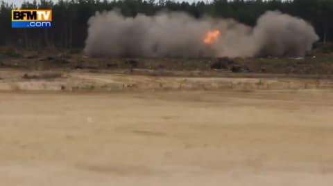 Un hélicoptère russe s'écrase en direct à la télévision