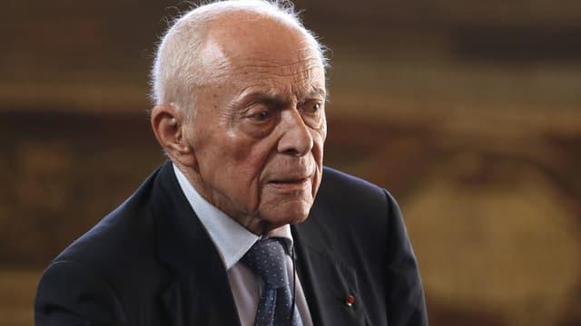 """Michel Rocard estime que la crise migratoire est une """"honte"""" pour l'Europe."""