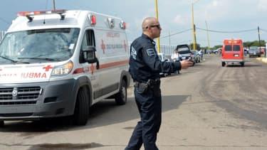 Une ambulance au nord du Mexique (photo d'illustration)