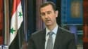 Le président syrien Bachar al-Assad, mercredi sur Fox News.