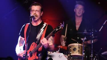 Les Eagles of Death Metal en concert à Los Angeles en octobre 2015