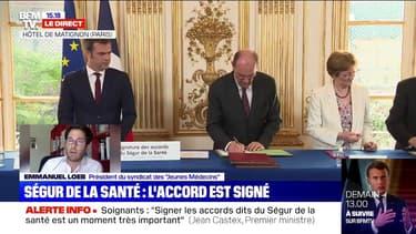 """Ségur de la Santé : le président du syndicat des """"Jeunes Médecins"""" dénonce une """"opération de communication"""""""