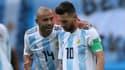 Lionel Messi et Javier Mascherano
