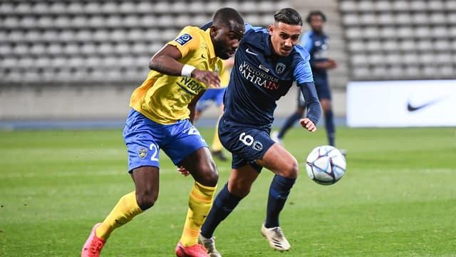 Paris FC - Sochaux match aller (0-0)