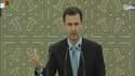 Bachar al-Assad prête serment, le 16 juillet 2014.