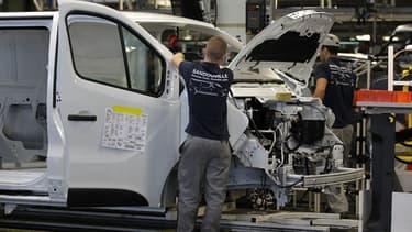 L'usine Renault de Sandouville