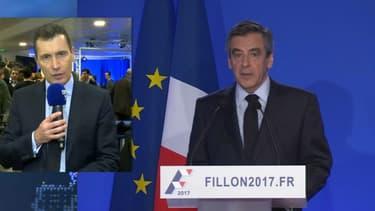 Thierry Arnaud s'exprime au sujet de la conférence de presse donnée par François Fillon.