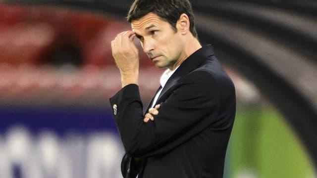 Rémi Garde, l'entraîneur de l'OL, est attristé du départ de Lisandro