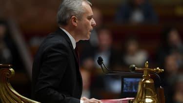 Le président de l'Assemblée nationale François de Rugy, le 8 novembre 2017 au Palais Bourbon à Paris.
