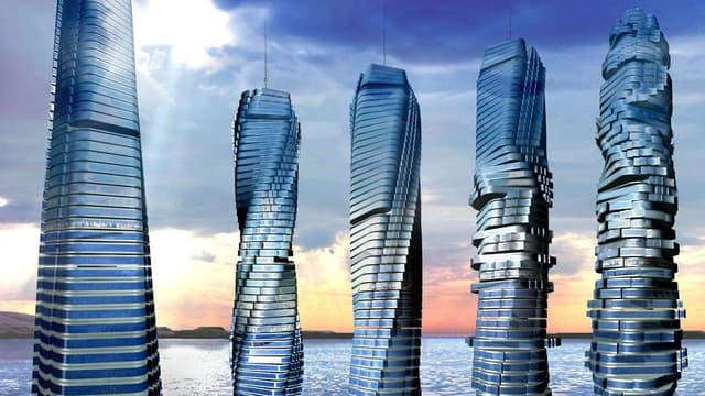 Un architecte italien prévoit d'ériger d'ici 2020 une tour rotative à Dubaï.
