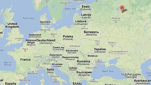 Cela s'est passé à 300 kilomètres au nord-est de Moscou.