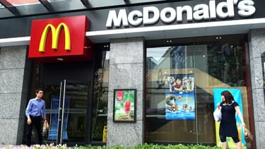 McDonald's est confronté à une forte concurrence en Chine