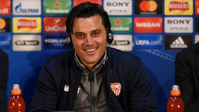 Vincenzo Montella, l'entraîneur du Séville FC