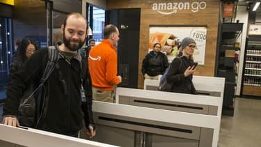 Un magasin Amazon Go à Seattle en janvier 2018.