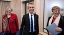De gauche à droite : Marie-Françoise Marais, présidente de l'Hadopi, Eric Walter, secrétaire général, et Mireille Imbert-Quaretta, présidente de la Commission de protection des droits (CPD).