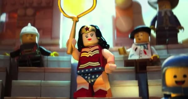 Wonder Woman dans Lego Movie