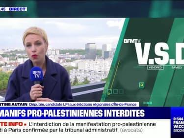Les manifs pro-palestiniennes interdites - 14/05