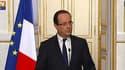 François Hollande présantant les grandes lignes du projet de loi sur la moralisation de la vie politique, le 10 avril 2013 à l'Elysée, à Paris