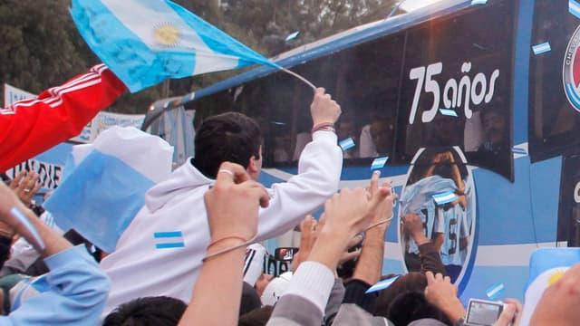 Des supporters argentins